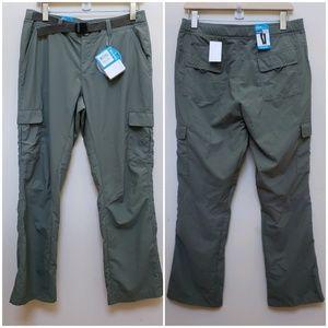 Columbia Omni Shield Hiking Pants Size 10 Short
